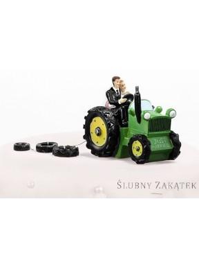 Figurka Para Młoda na traktorze 34