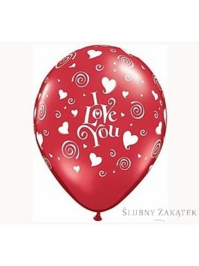 Balon I LOVE YOU