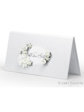 ETUI NA PIENIĄDZE White Roses