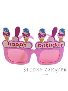 "Okulary ""Happy Birthday"""