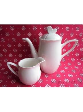 Dzbanek do kawy i mleka - zestaw