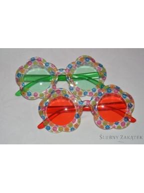 Okulary Kwiaty