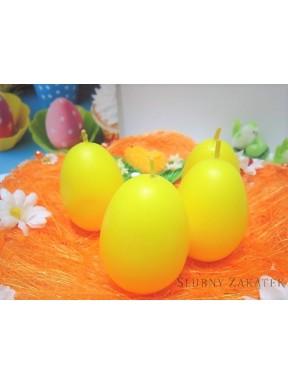 Świeczki jajka żółte