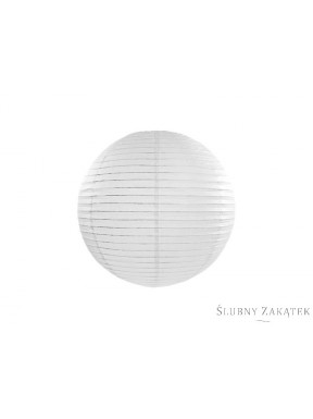 Lampion papierowy okrągły