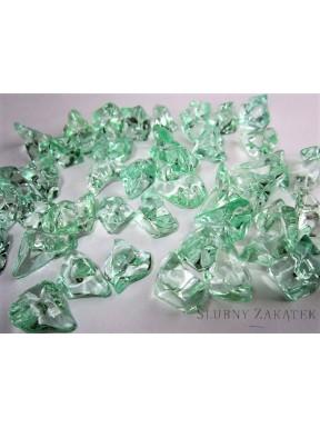 Kryształowy lód, zielony
