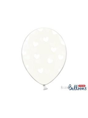 Balon SERDUSZKA, crystal clear