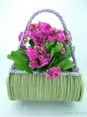 Doniczka na kwiaty TOREBKA