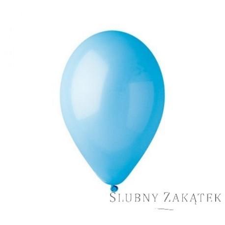 """Balony 12 """", pastel niebieskie"""