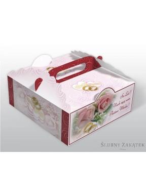 Pudełko na ciasto ROSE