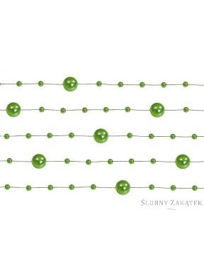 Girlanda perłowa, zielona