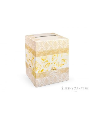 Pudełko na koperty GOLD
