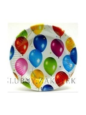 TALERZYKI PAPIEROWE Baloniki, 23 cm