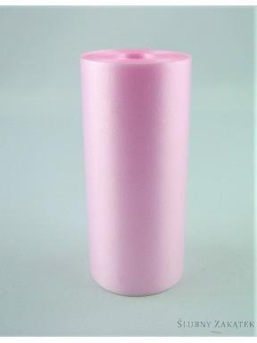 Wstążka pastelowa 7m, j. różowa
