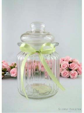 Słoiczek szklany na przyprawy, słodkości II