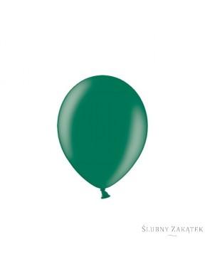"Balony 10"",  metalik c. zielone, 50 szt."