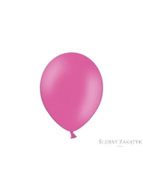 Balony 10, metalik różowe, 50 szt.