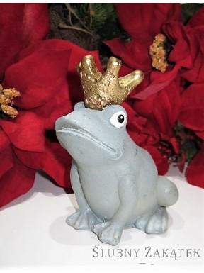 ŚWIECZKA Żaba w koronie