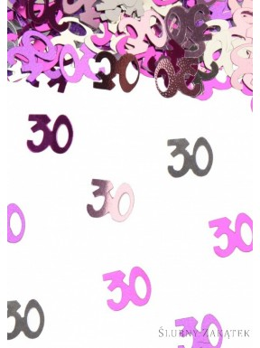 """KONFETTI Urodzinowe """"30"""""""