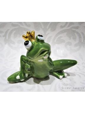 FIGURKA CERAMICZNA Żaba, mała