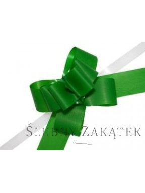 KOKARDA ŚCIĄGANA 2 cm, zielona