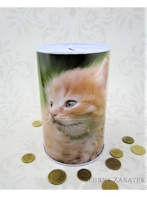 SKARBONKA PUSZKA Kot