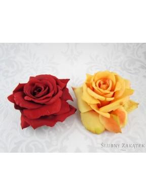 KWIATY SZTUCZNE Róże pływające, mix
