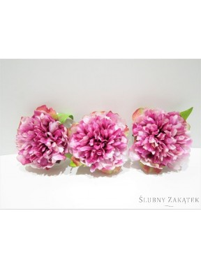 KWIATY SZTUCZNE Peonie pływające, c. różowe