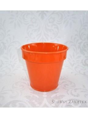 OSŁONKA NA DONICZKĘ pomarańczowa