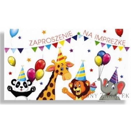 ZAPROSZENIE DZIECIĘCE Urodzinowe