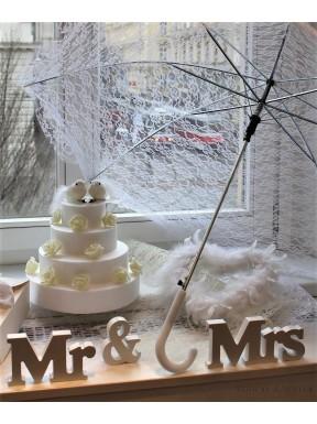 NAPIS DREWNIANY Mr & Mrs