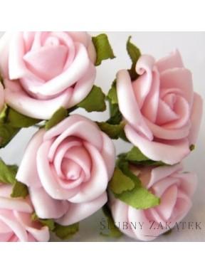 RÓŻYCZKI DO DEKORACJI Różowe, małe