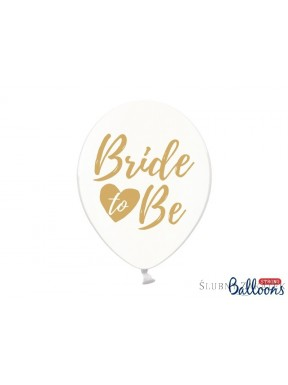 "BALONY "" Bride to Be"", zestaw"