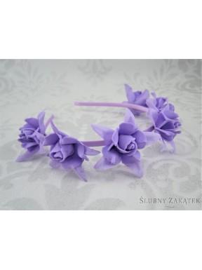 OPASKA - WIANEK 000085-6 Róże, mix kolorów