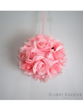 KULA DO DEKORACJI różowa, mała