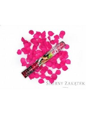 TUBA PŁATKI RÓŻ różowe, 80 cm