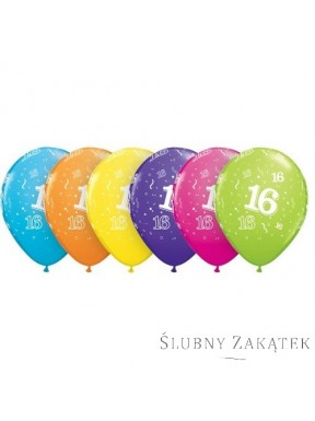 """BALONY """"16 Urodziny"""""""