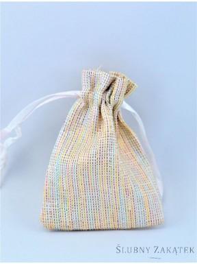 WORECZEK NA PREZENTY Kolorowe nici, mały