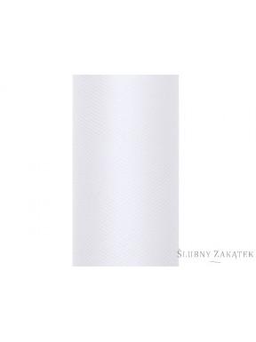 TIUL DO DEKORACJI 0,5 x 9m, biały