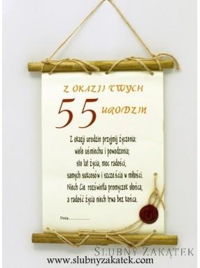 Papirusowe życzenia z okazji...