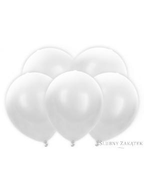 Balony Led białe 5 szt
