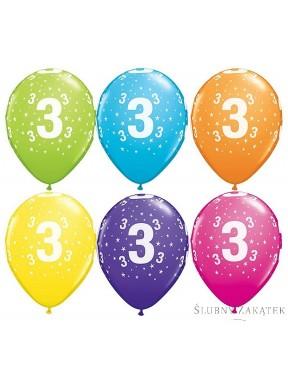 """BALONY """"3 Urodziny"""", mix"""