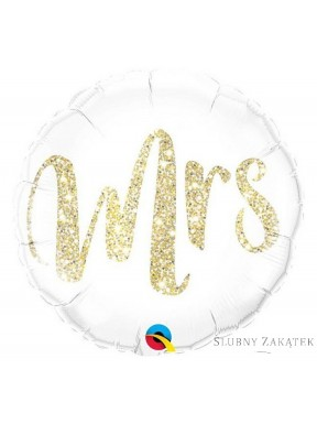 Balon foliowy Mr & Mrs