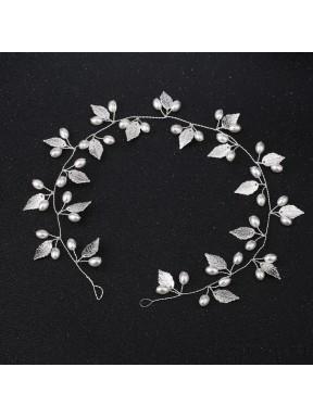 OZDOBA DO WŁOSÓW Opaska Ślubna Kwiaty 00075-2