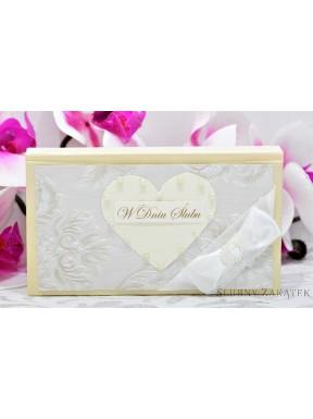 Pudełko na pieniądze Róże