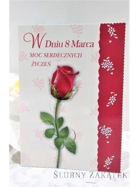 KARTKA OKOLICZNOŚCIOWA Z okazji Dnia Kobiet