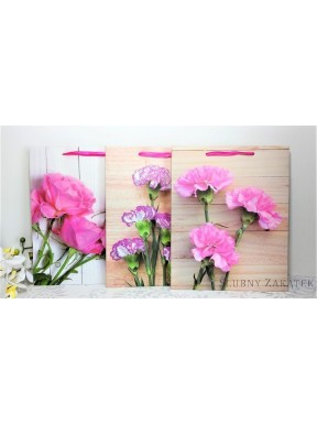 TOREBKA NA PREZENTY Kwiaty
