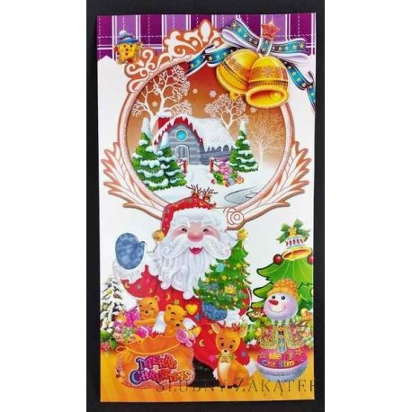 KARTKA ŚWIĄTECZNA Mikołaj