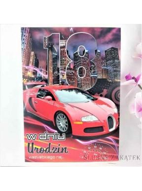 KARTKA URODZINOWA 18 Urodziny