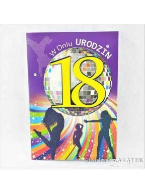 KARTKA URODZINOWA 18 Urodziny Piłka