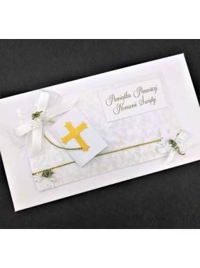 KARTKA OKOLICZNOŚCIOWA Pamiątka Pierwszej Komunni Świętej 000089-2